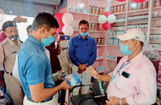 ढ़ाका रेफरल अस्पताल जन औषधि केंद्र का का उद्धघाटन, मिलेगा सस्ते कीमत पर दवाई