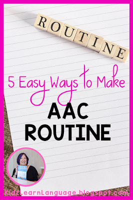 making aac routine