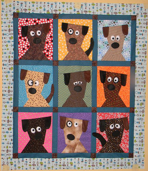 Dog Daze - Free Quilt Pattern