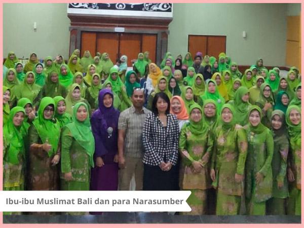 yaici dan muslimat bali memperingati hari kesehatan nasional