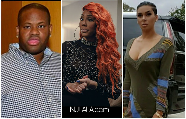 "Tamar Braxton exposes Vincent Herbert for getting Laura Govan pregnant! ""His Whore Let Me Know About It"""