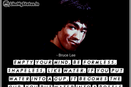 75 Bruce Lee Quotes | Water | Life | Inspiration | Love