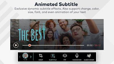 Aplikasi editing video Android : FilmoraGo