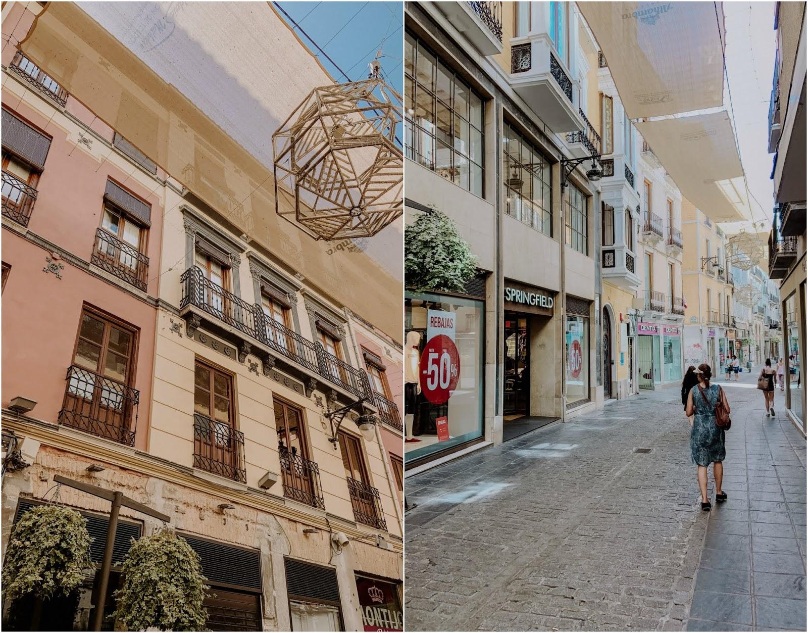 Streets of Granada Andalucia