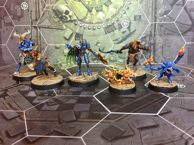 What's On Your Table: Eyes of the Nine and some Gryph Hounds