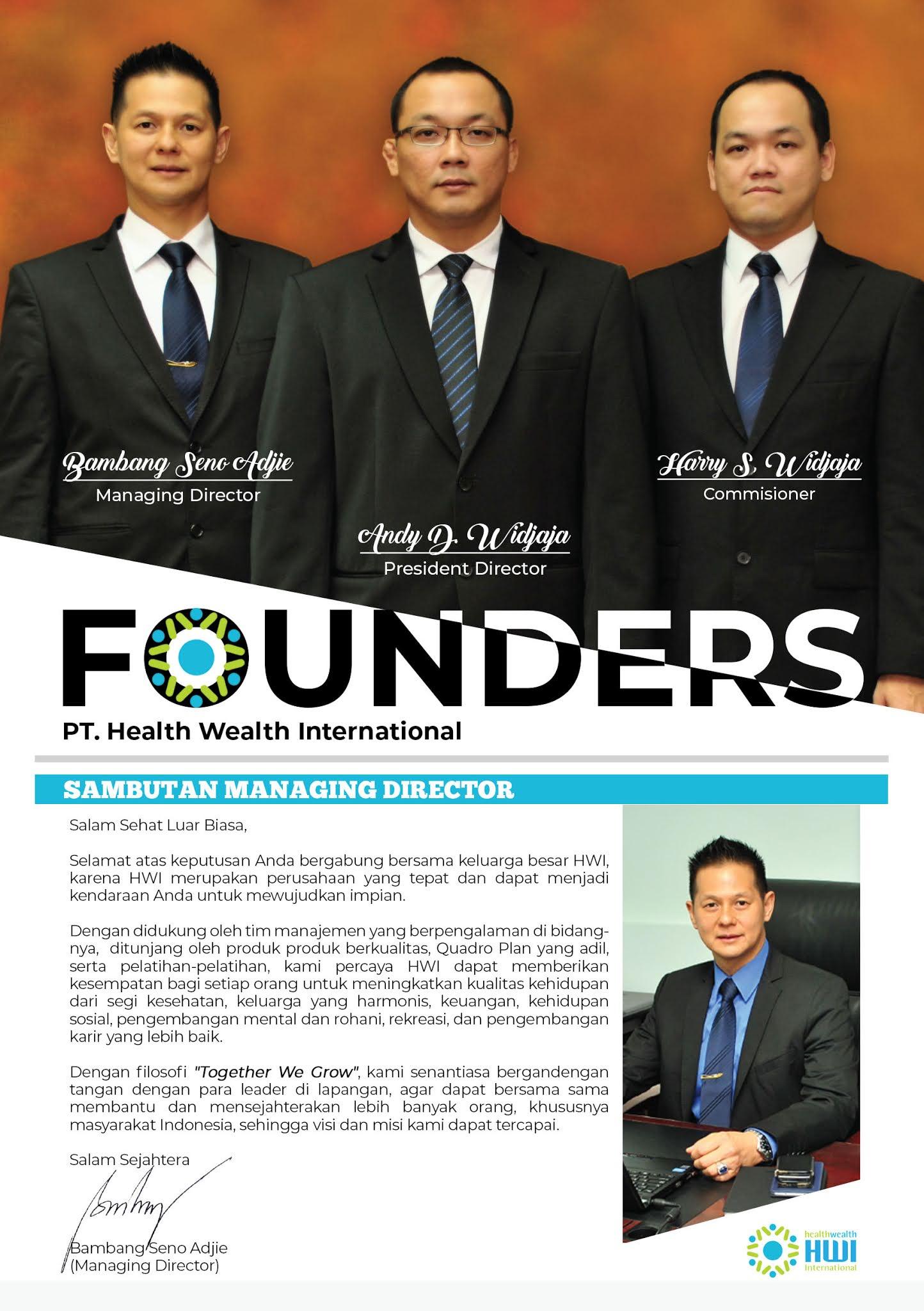 Mengenal perusahaan HWI yang berkontribusi kepada pekerja WFH