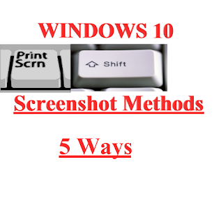 How to Take Screenshots in Windows 10. All methods.