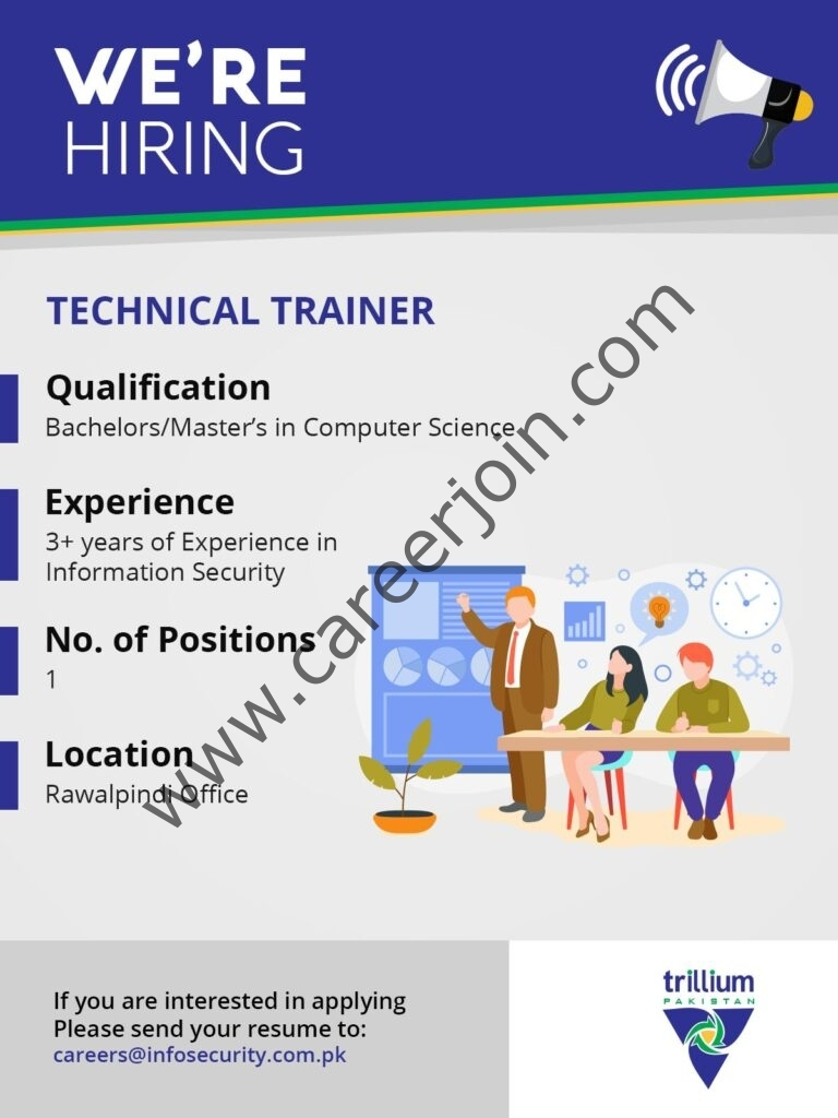 Trillium Information Security Systems Jobs 2021 in Pakistan