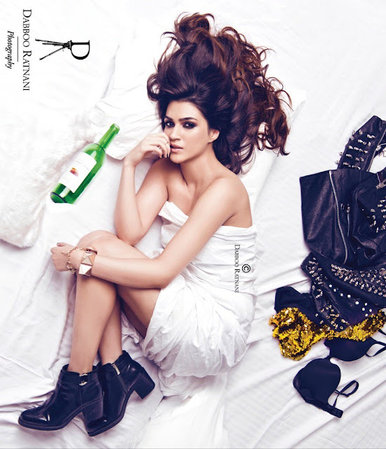 Kriti Sanon Hot in Dabboo Ratnani Calender Photoshoot 2017