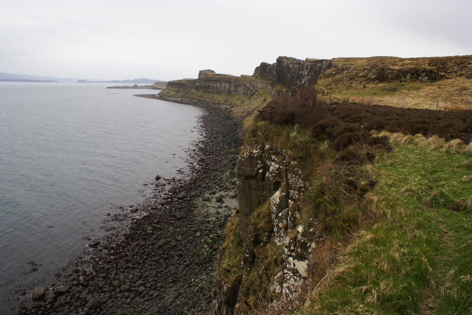 kilt rock skye scotland uk united kingdom