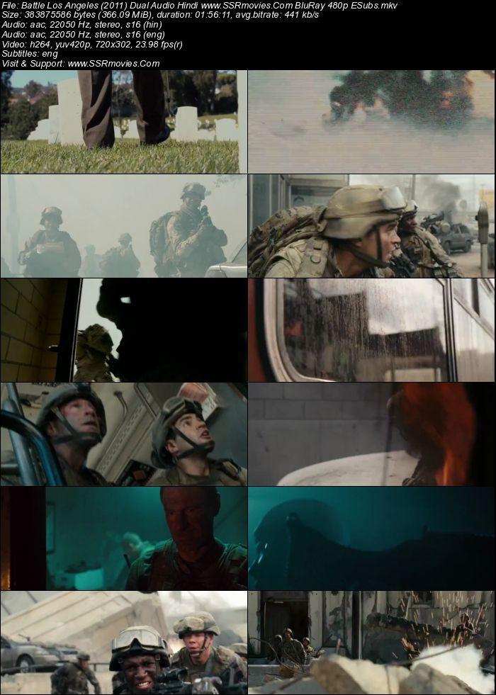 Battle Los Angeles (2011) Dual Audio Hindi BluRay 480p 300MB | SSR