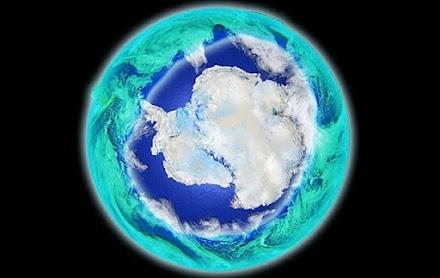 Η τρύπα του όζοντος πάνω από την Ανταρκτική κλείνει