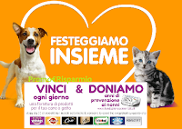 Logo World Animal Day 2018: vinci 61 forniture per cani o gatti