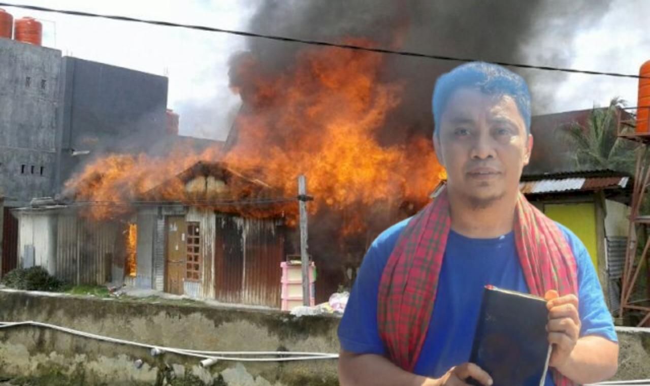 Ajaib, Kebakaran 7 Rumah di Mamuju, di Temukan ALKITAB Tidak Terbakar