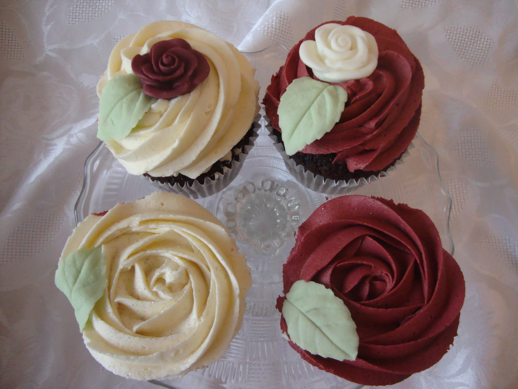 Cupcakes And Cardigans: Wedding Cupcakes