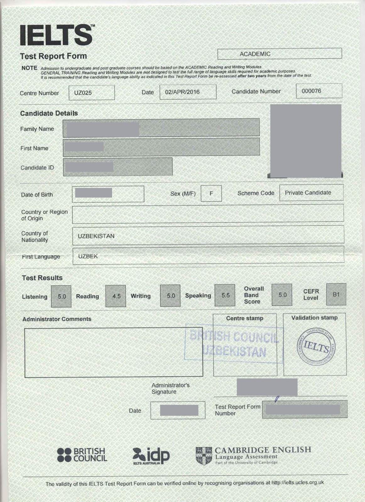 Buy Verified Ielts And Toefl Certificates