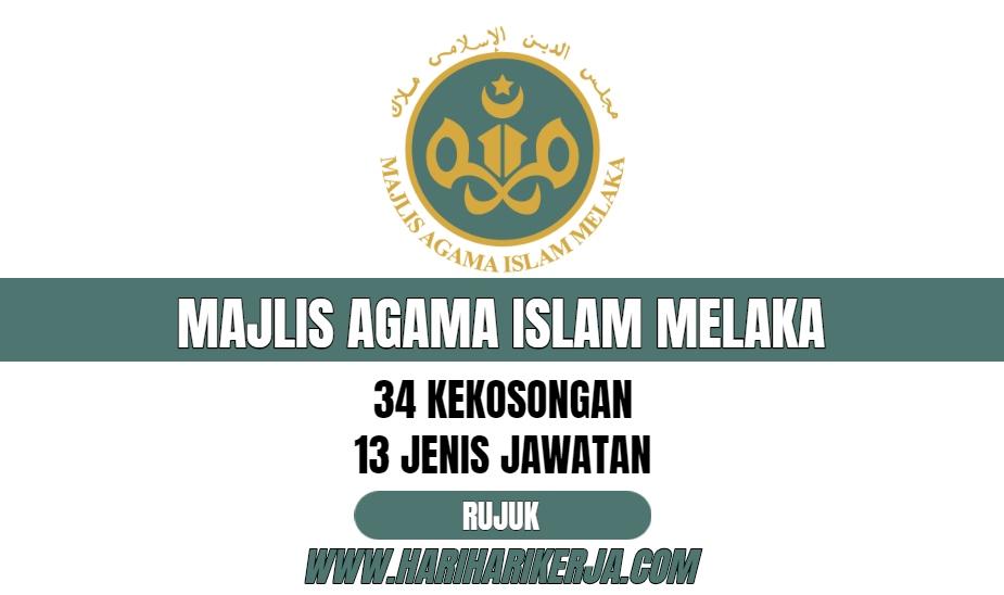 jawatan kosong agama islam melaka