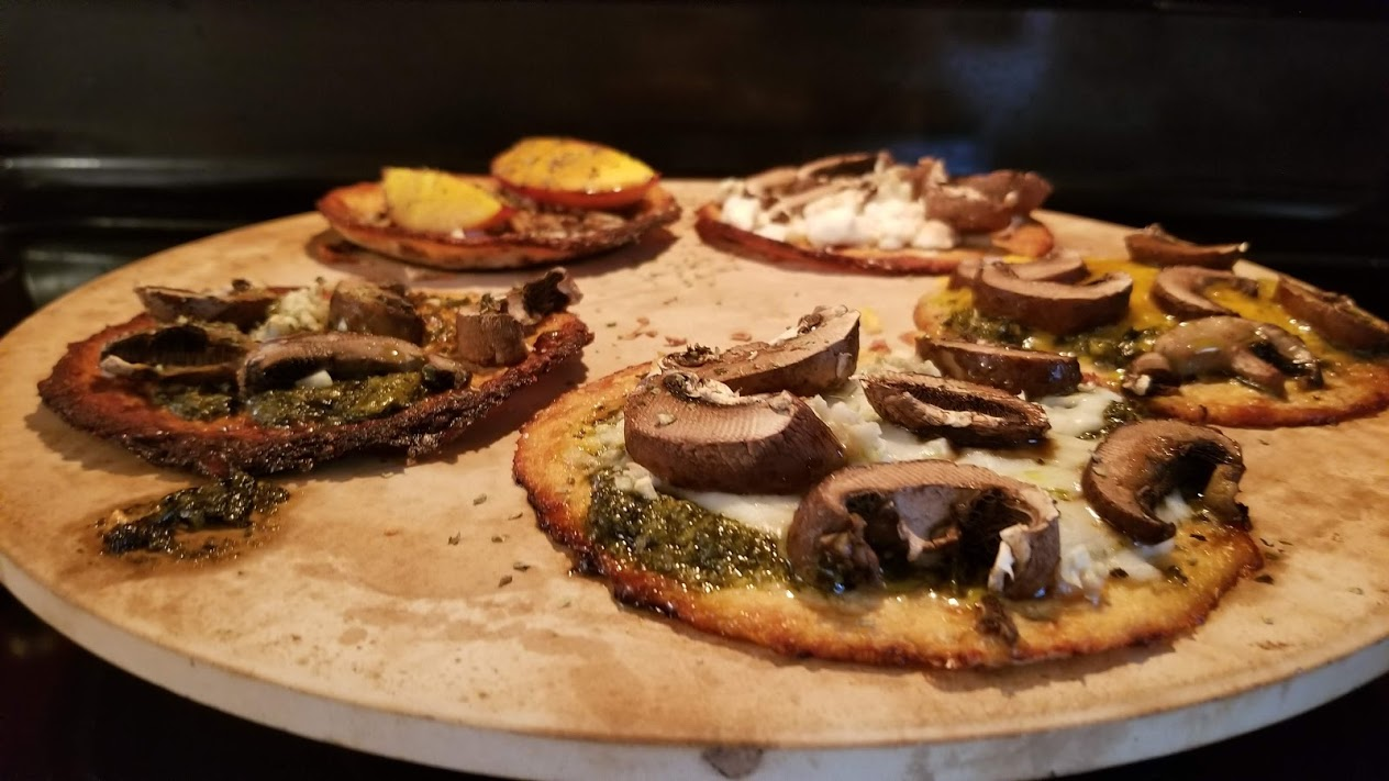 Mini cauliflower crust pizzas, Califlour Foods