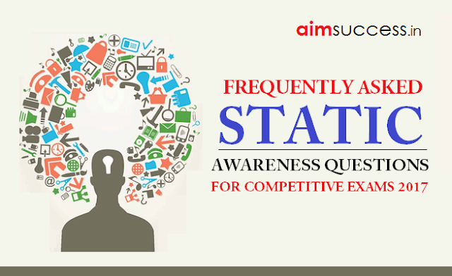 Static Awareness for Different Banking Exams 2018
