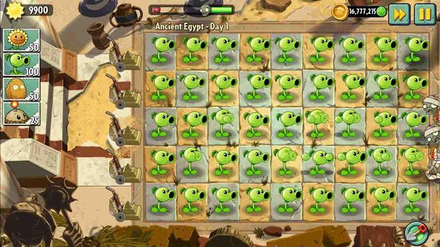 cheat plants vs zombie 2 android mega mod no delay