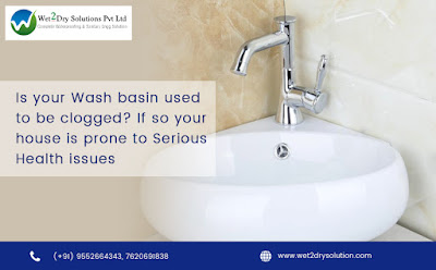 wash basin leakage and Wall dampness