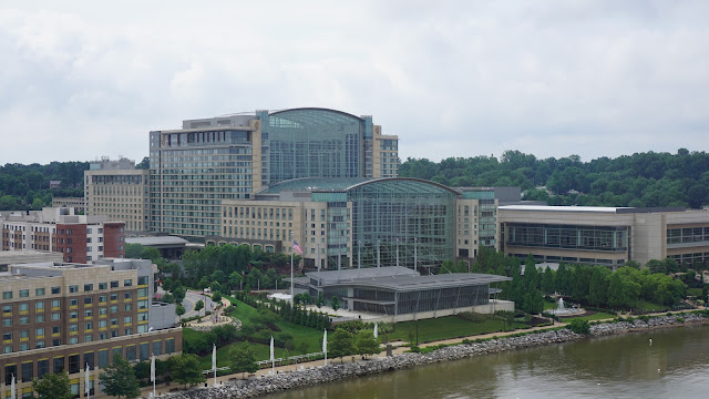 View of the Gaylord National Harbor from the Capitol wheel
