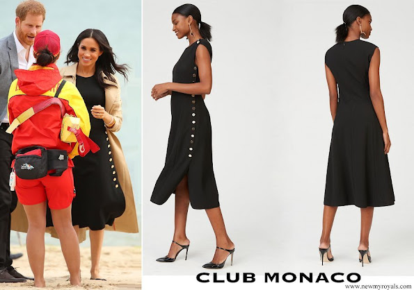 Meghan Markle wore Club Monaco Miguellina Dress