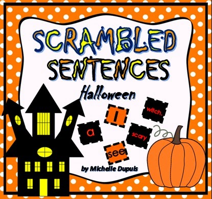 Halloween Scrambled Sentences