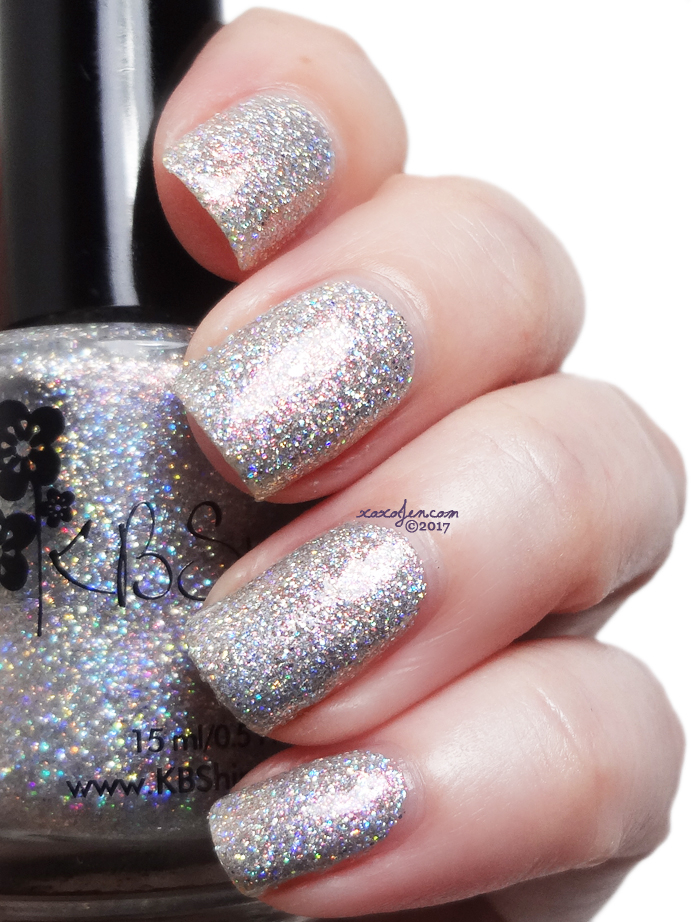 xoxoJen's swatch of KBShimmer Pearls Gone Wild