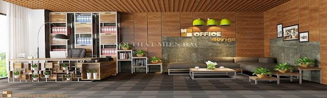 Thiết kế văn phòng Hà Nội với không gian xanh thật tinh tế - H3