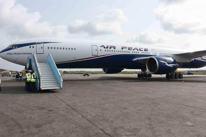 Nigeria's Air Peace takes delivery of its own New Boeing 777-300 Aircraft