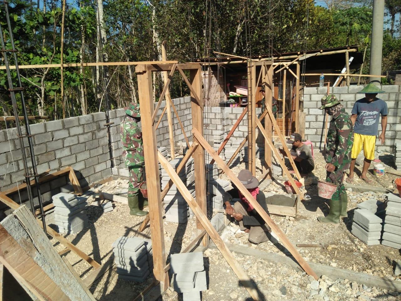 Program TMMD 106 Kodim Kab Malang sudah memasuki hari ke 7