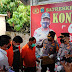 Polres Batubara Gelar Press Release Penangkapan 5 Tersangka Perdangan Manusia