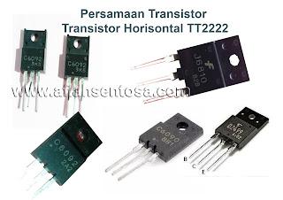 Persamaan Transistor Horisontal TT222