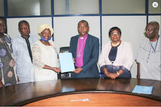 Ajayi Crowther University Signs MOU with Fed. School of Surveying Oyo