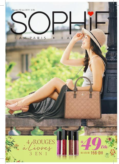 catalogue sophie paris maroc juin 2019