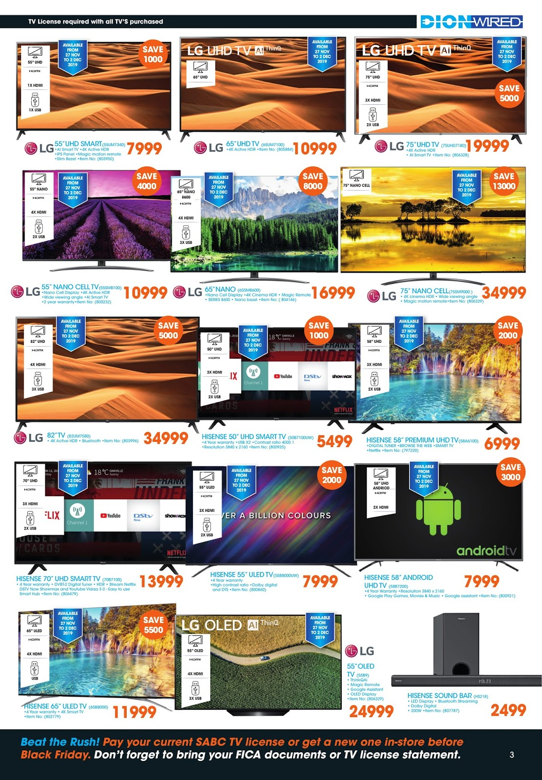 Dion Wired Black Friday Deals Page 3