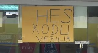 """طريقة الحصول على كود""""HES"""" لوضعه في إذن السفر وتفعيل كرت المواصلات في تركيا"""