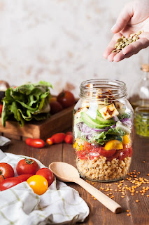 Salad lovers Enjoy ! with some delicious  kinds  of  Salads