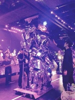Robot Restaurant finale robot