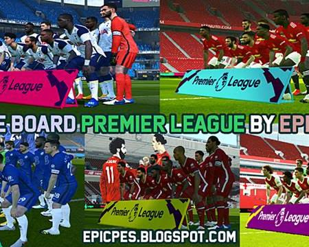 PES 2017 Title Board Premier League