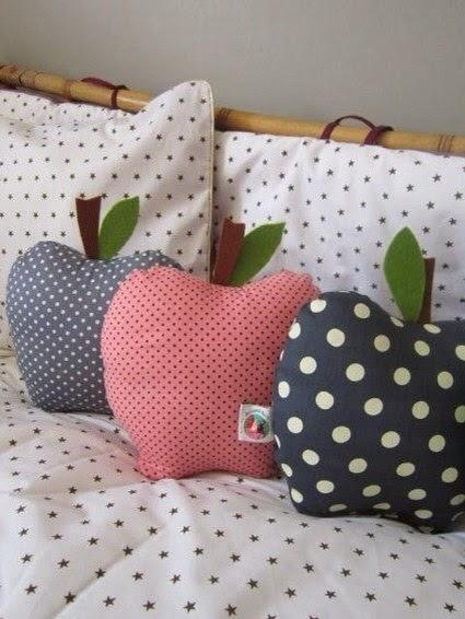 Moldes gratis para hacer un coj n manzana - Modelos de cojines decorativos ...
