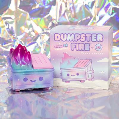 Dumpster Fire Kawaii Galaxy Trash Edition by 100% Soft x JapanLA