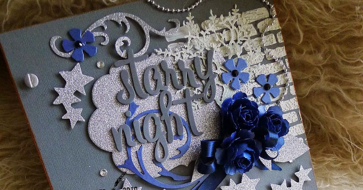 Debut Invitations Starry Night Debut Royal Blue And Silver