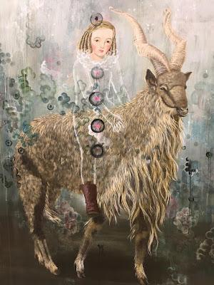 Markhor Goat (2017), Anne Siems