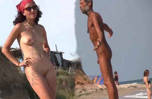 NudeBeach sb14072-14076 (Nude Beach Voyeur)