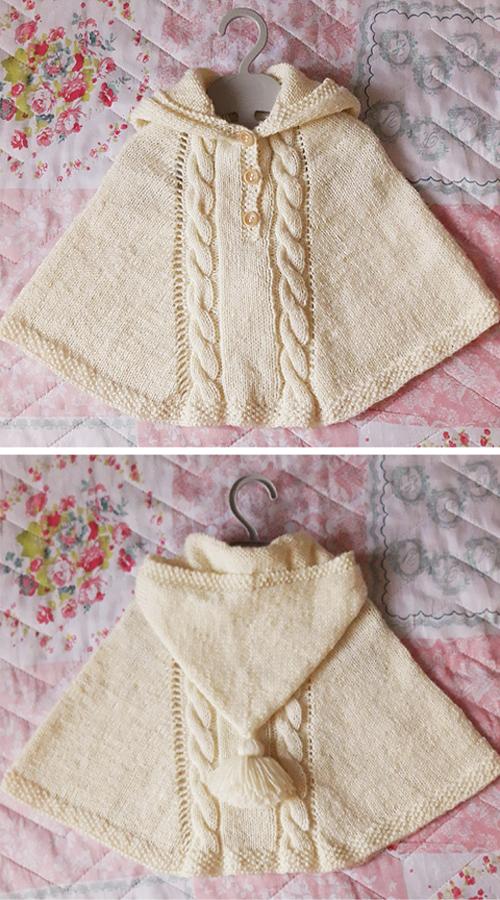 Lolo Poncho - Free Knittig Pattern