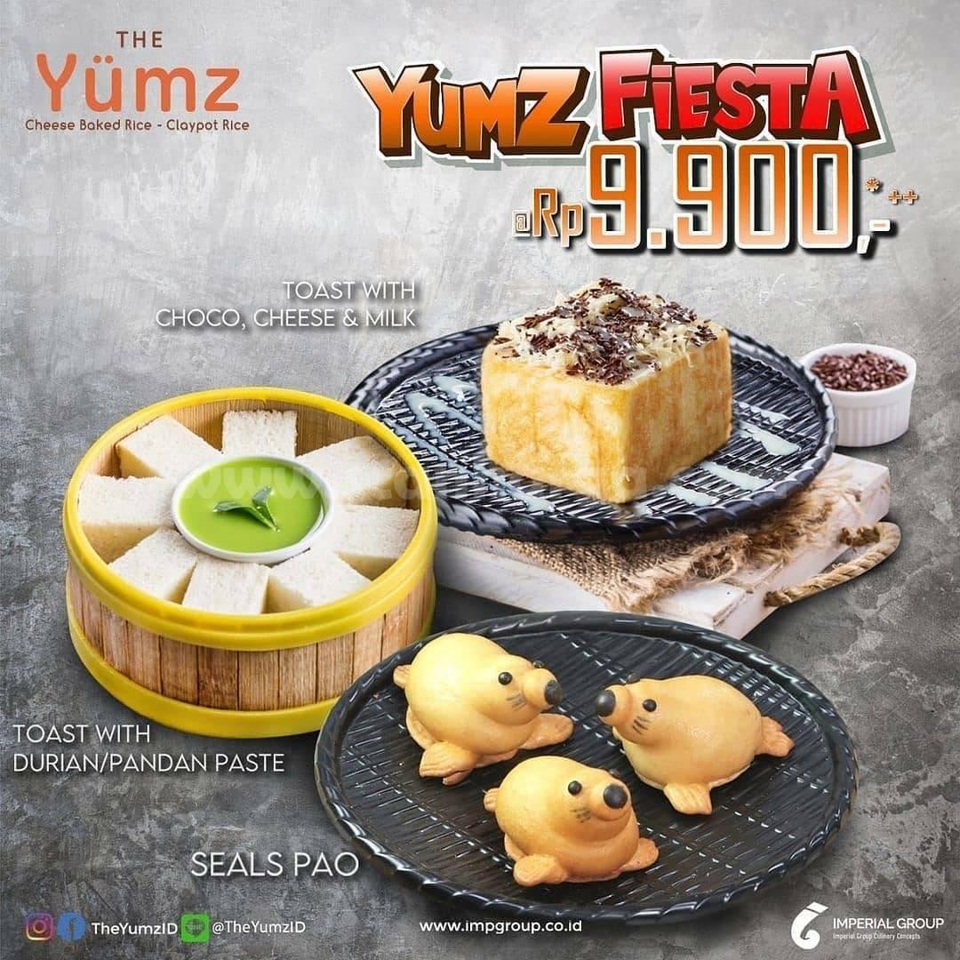 THE YUMZ Promo Paket Yumz Fiesta harga hanya Rp. 9,900++