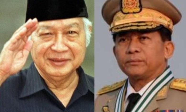 """Militer Myanmar Disebut Salah """"Berguru"""" Pada Politik ala Soeharto"""