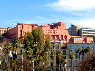 The Nunziatella complex in the Pizzofalcone district if Naples, near the city centre
